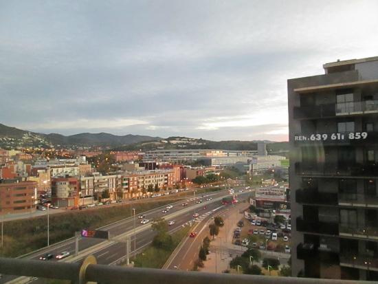 Rafaelhoteles Badalona: Vista do apartamento lateral