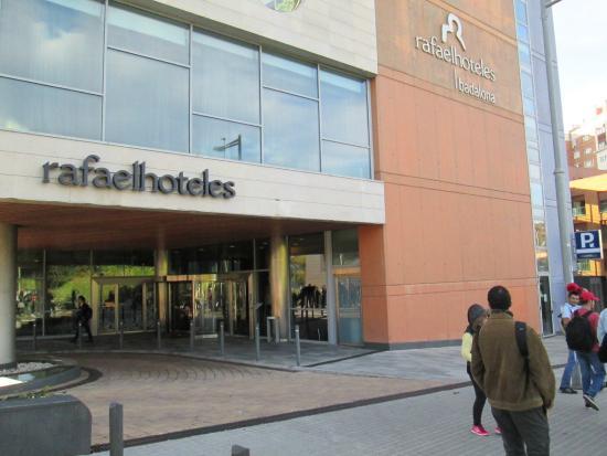 Rafaelhoteles Badalona: fachada