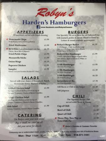 Robyn's Hardens Hamburgers