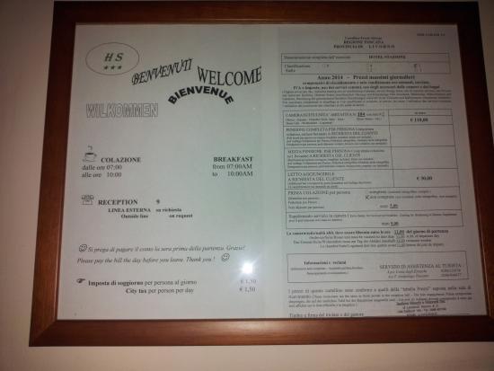 Hotel Stazione: Welcome