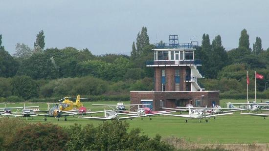 Eccles, UK: City Airport's Control Tower