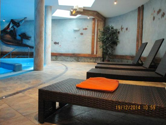 Hotel Krysztal: Basen