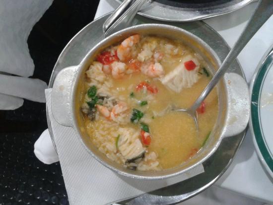 Restaurante Cervejaria Pinoquio: Bacalhau with shripms and rice