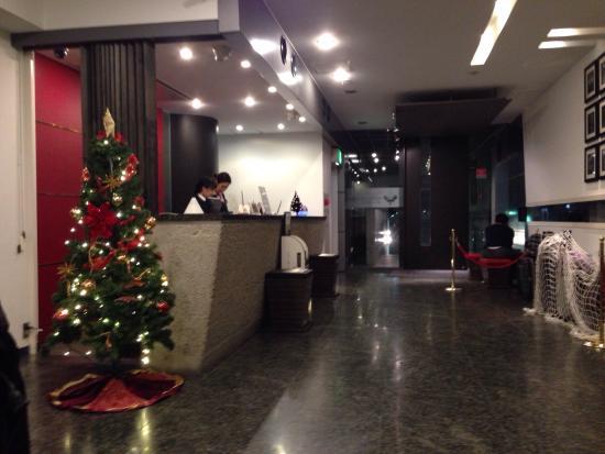 Hotel Mystays Nishi Shinjuku : Hotel lobby