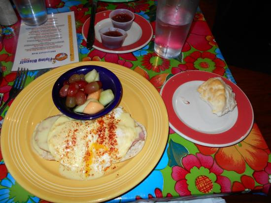 The Flying Biscuit Cafe: Eggs Benedict