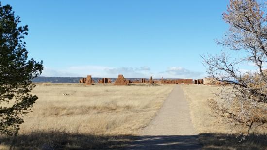 Fort Union National Monument: From the Visitors' Center