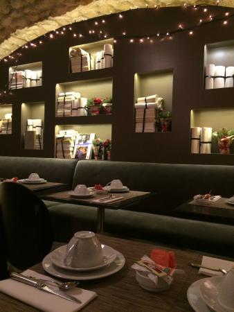 Hotel Verneuil Saint-Germain : The breakfast cafe