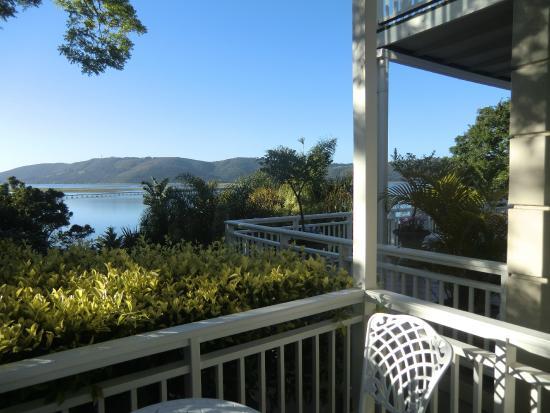 Bridgewater Manor: Blick vom Balkon