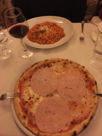 Mortadella pizza and pasta - Picture of Il Gattopardo, Olbia ...