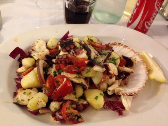 Ristorante Pizzeria La Colonna: Polpo con patate