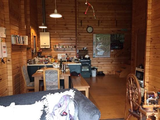 Arthur's Pass Eco Lodge: Dinner place