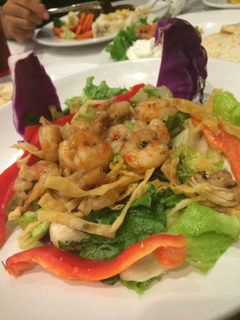 Ruby's Diner : Thai shrimp salad! So delicious, but get the dressing on the side.