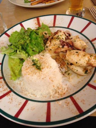 Le Victoria : Assiette de chipirons