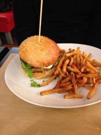 Le Victoria : Le crousti burger