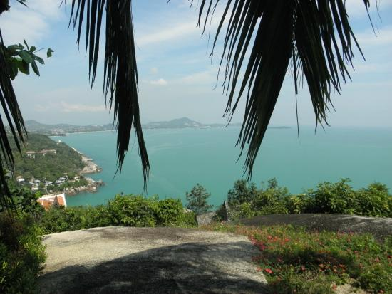Samui Mountain Village: view from the pool