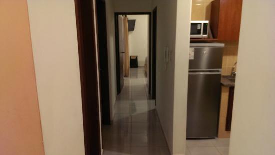 Aparthotel Premium Suites Santa Cruz: View from Dining room