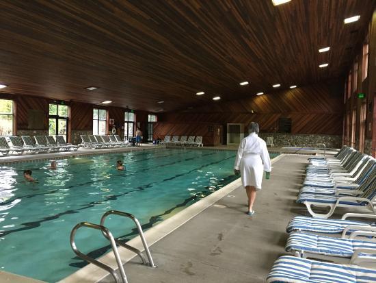 Bonneville Hot Springs Resort & Spa: indoor mineral pool
