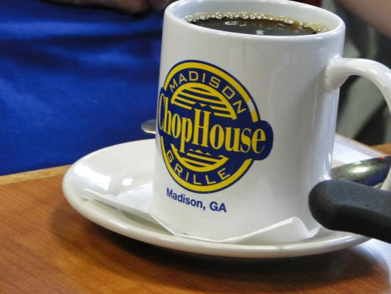 Madison Chop House Grille: cup of joe