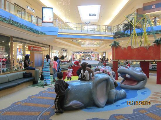 International Plaza and Bay Street: children's play area