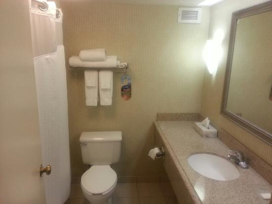 Holiday Inn Arlington At Ballston: Bathroom spacious and clean