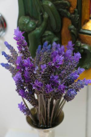 The Factory: Fresh lavender - both flowers and in the handwash and moisturiser - luscious