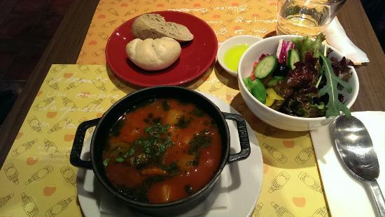 L'OCCITANE CAFE: 野菜がタップリのスープセット