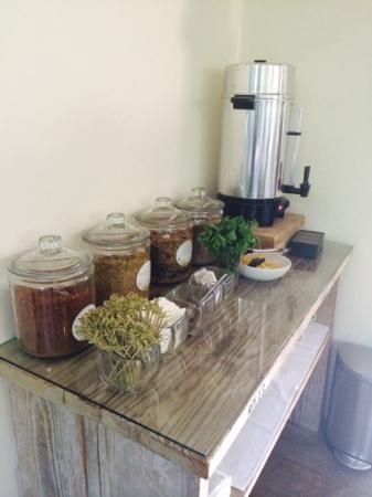 Ranch at Live Oak Malibu: Herbal tea morning noon and night