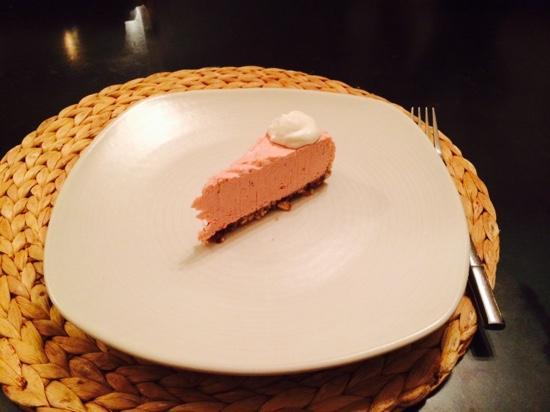 Ranch at Live Oak Malibu: one night only - vegan cheesecake desert