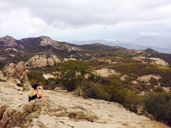 Ranch at Live Oak Malibu: rugged Santa Monica mountains each day a different hike