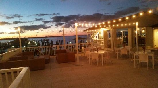 Sunsets Restaurant at Romora Bay