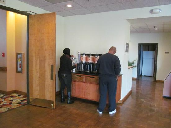 Best Western Hickory : Coffee Area