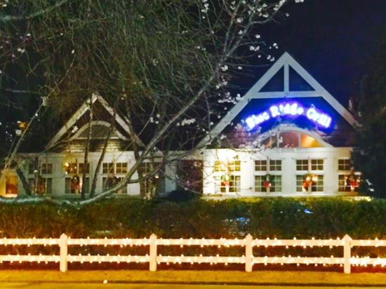 Blue Ridge Grill Exterior & Lobster Bisque and