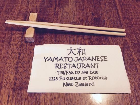 Yamato Japanese Restaurant: Happy days :-)