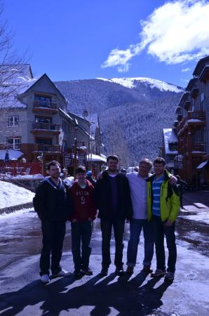 Keystone Ski Area: Keystone village in March, last incredible day