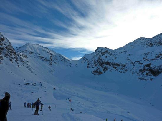 Alpenresidenz Mooshaus: Himmel über Kühtai