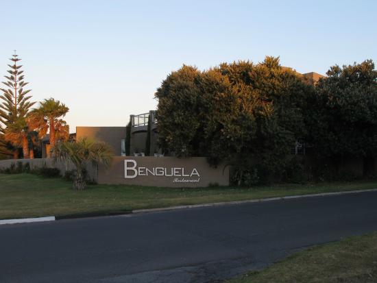 Benguela Restaurant: approaching the restaurant