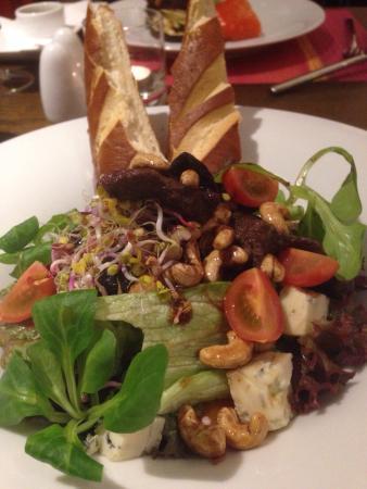 FAB Fusion: Salatka z wolowina