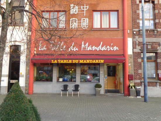 la table du mandarin photo de la table du mandarin saint ghislain tripadvisor. Black Bedroom Furniture Sets. Home Design Ideas