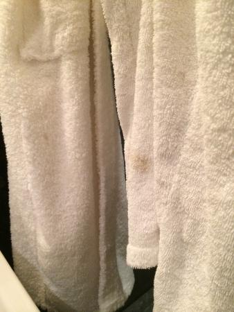 The Bank Hotel: Complimentary bathrobes that weren't clean