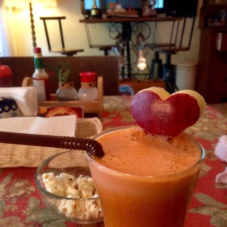 Bonita Cafe and Social Club: Juice of the day. Delicious