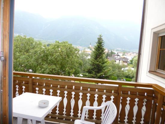 Hotel Vermoi: Balcone della camera