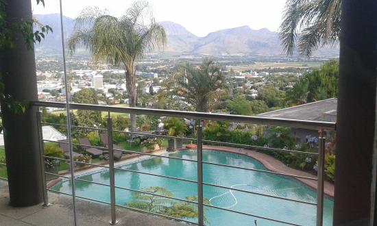 Paarl Boutique Hotel: Beautiful views!!