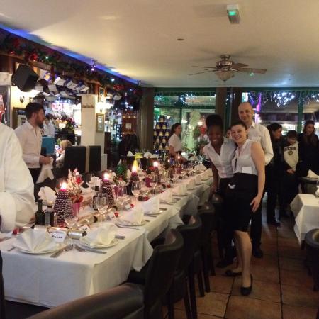 Puccini's Pizzeria e Restaurante: Some of puccini staff