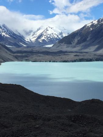 Blue Lakes and Tasman Glacier View