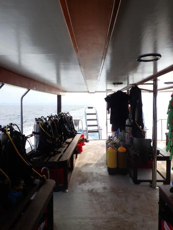Sea Bees Diving Khao Lak - Day Tours : The boat