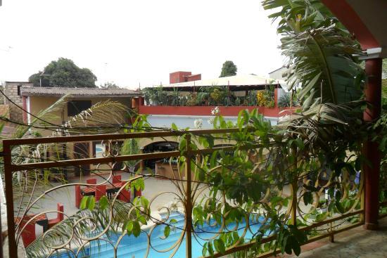vue de la terrasse de la chambre
