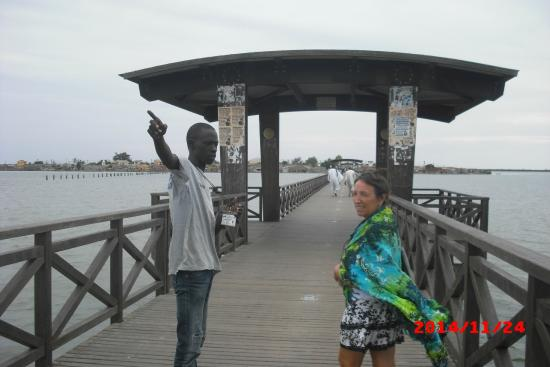 Joal Fadiout : le pont entre joal et l'île aux coquillages
