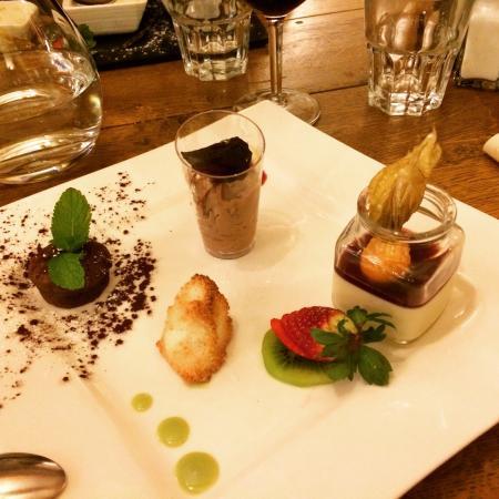 Restaurant Le Vieux-Chalet: Dessert (café gourmand)