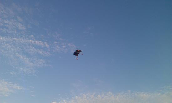 Playa el Palmar: hang glider 1