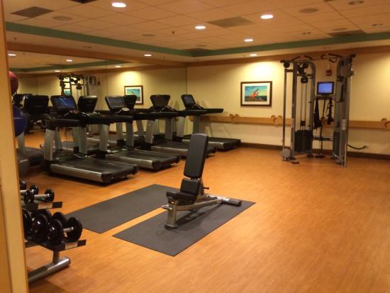 fitness room picture of disney s paradise pier hotel anaheim rh tripadvisor com